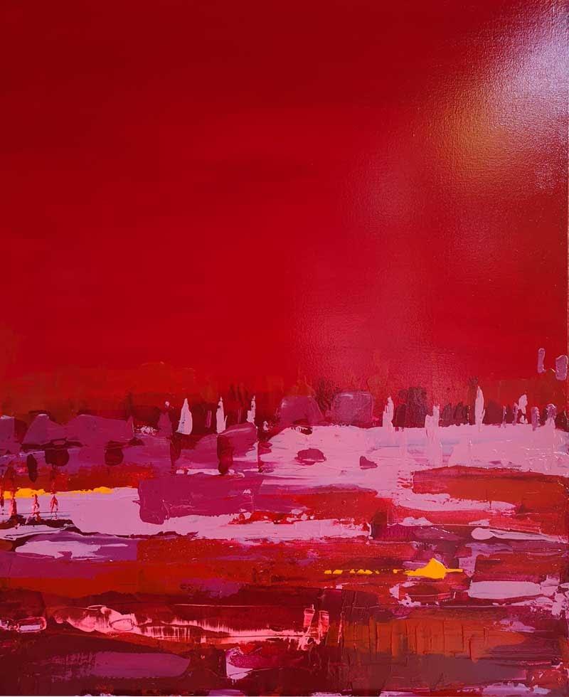 Ute Bescht Sylt Westerland Galerie am Meer - Tranquility 1