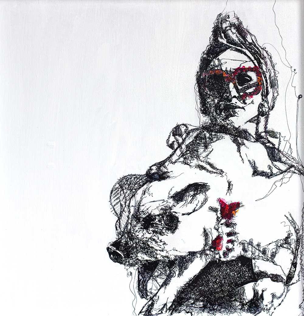 Les lignes du chaos: Madonna (s got swine)