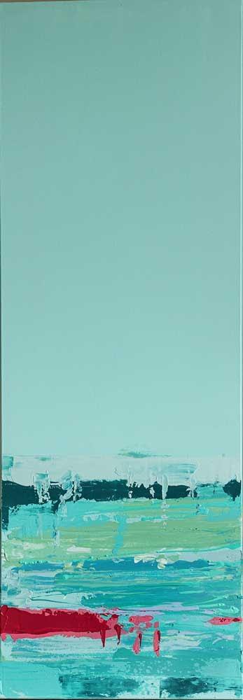 Ute Bescht Kunstwerk: Abstract Line- You, my island