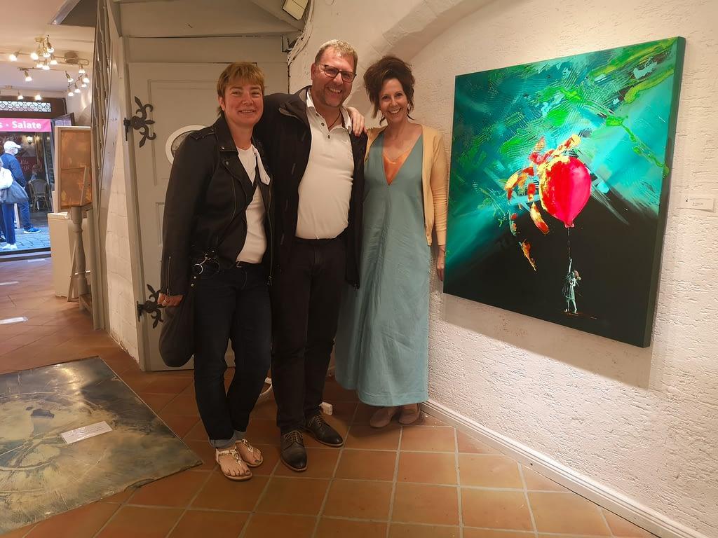 les lignes du chaos Kunstausstellung: Ute Bescht - & liebe fast Verwandte