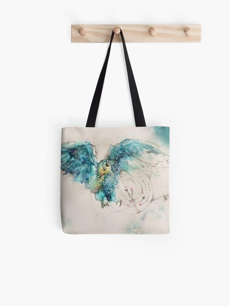 work 46305887 allover print tote bag