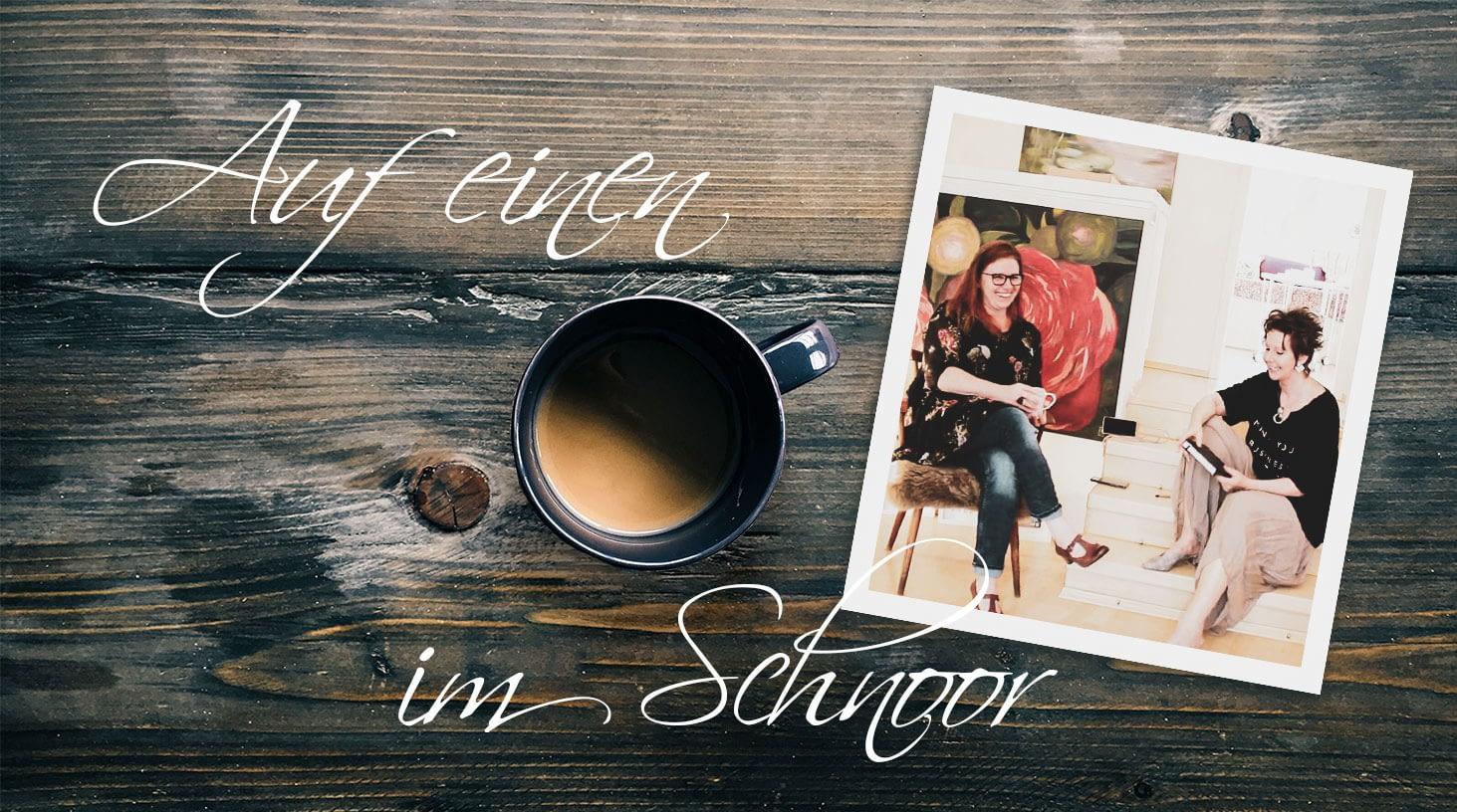 Auf einen Kaffee im Schnoor- Ute Bescht und Ruth E.E. Cordes plaudern über Kunst, Klön und Kultur