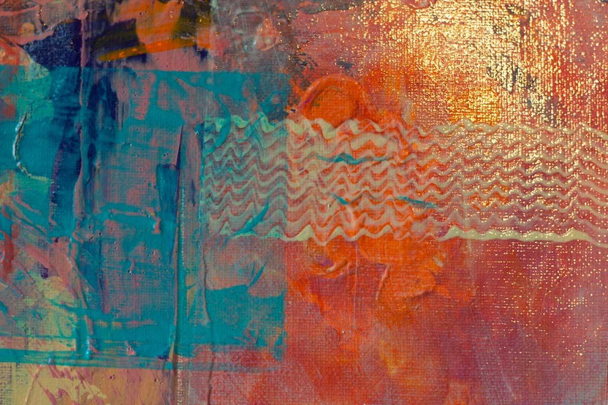 Ute Bescht - abstraktes Werk: 3 Generations