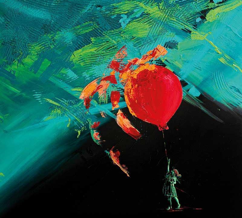 Ute Bescht Kunstwerk: Chaotic Tenderness of my creative childhood - Register 1