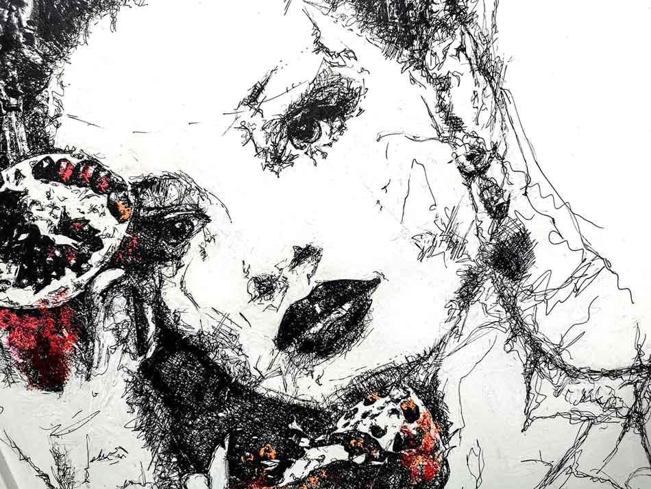 Les lignes du chaos: The Girl With Pomegranates