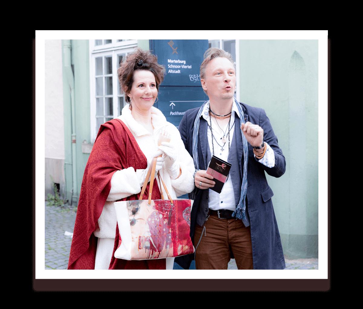 Herr Markus & die Bescht - Histomödie - die besondere Führungen durch den Schnoor - Anekdotenkunst der kurzen Sätze und langen Phrasen