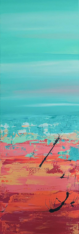 Ute Bescht Kunstwerke - Abstract Series: Arizona Field