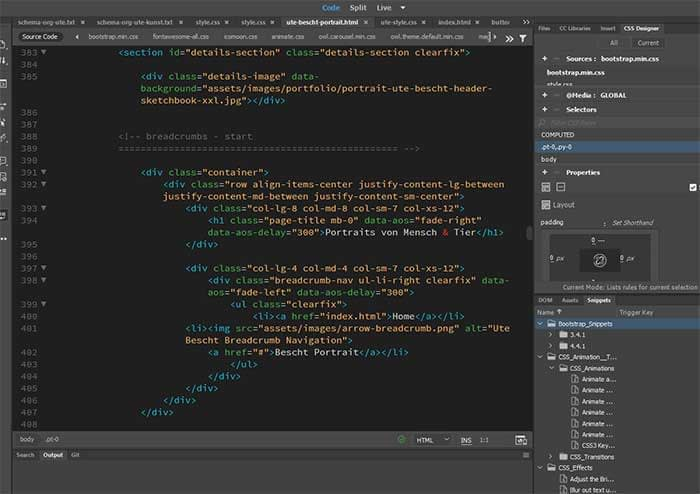 Bremen Webdesign - Coding - Individuelle Webseiten, Homepages by Ute Bescht