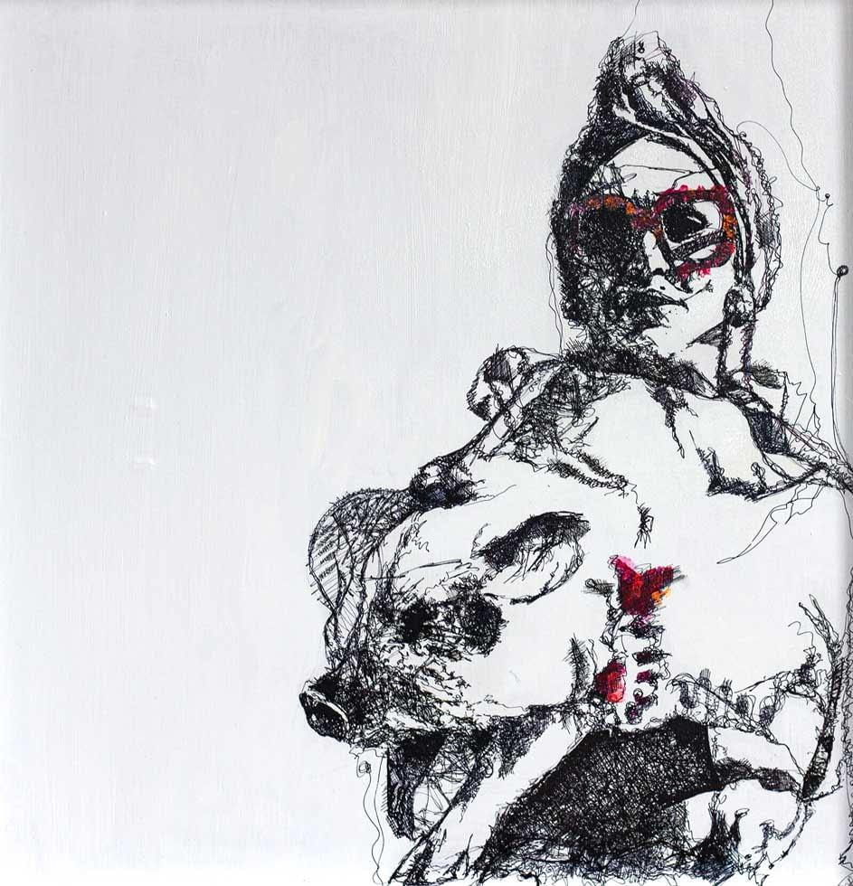 Les lignes du chaos: Madonna `s got swine, her lucky day