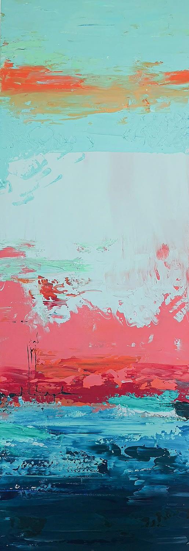 Ute Bescht Kunstwerke - Abstract Series: After the storm