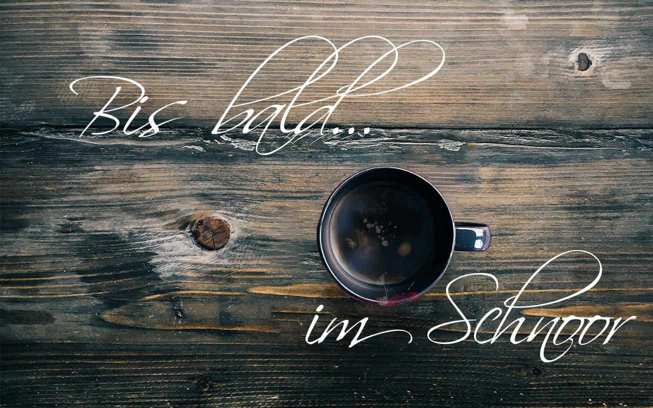auf einen Kaffe im Schnoor - bis zum nächsten Mal!