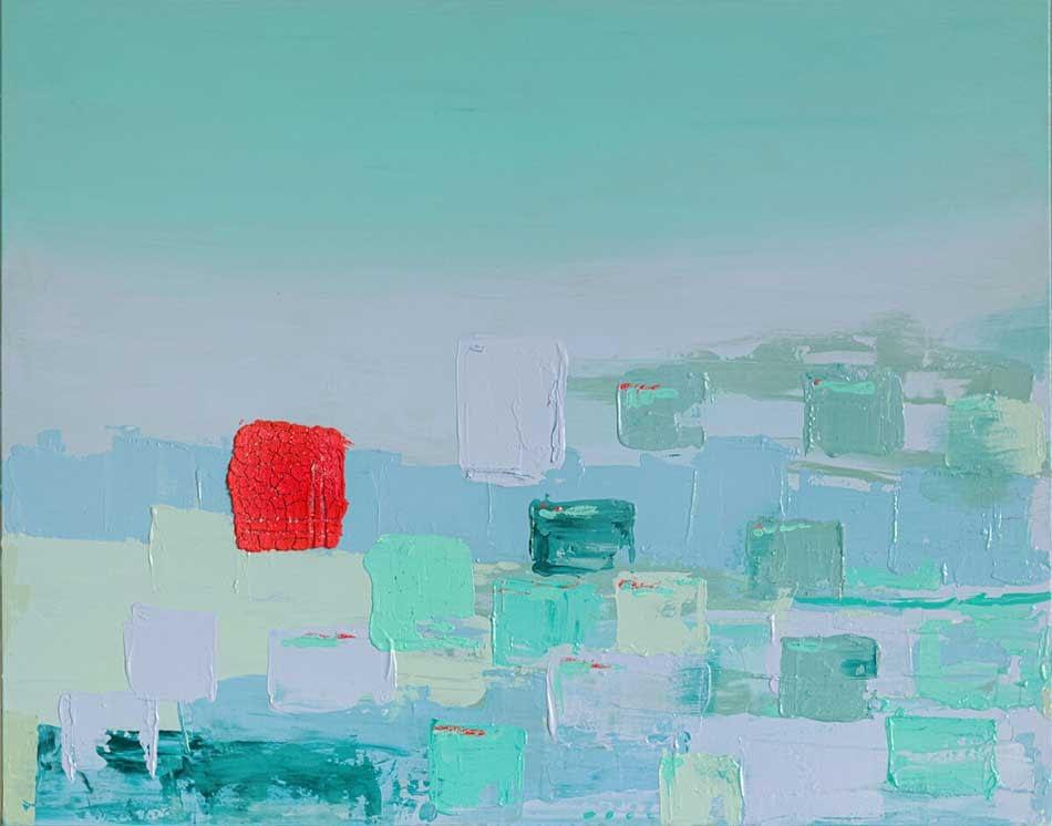 Ute Bescht - Abstraktionen mit Farbpsychologie & Kraft- Peer Influence