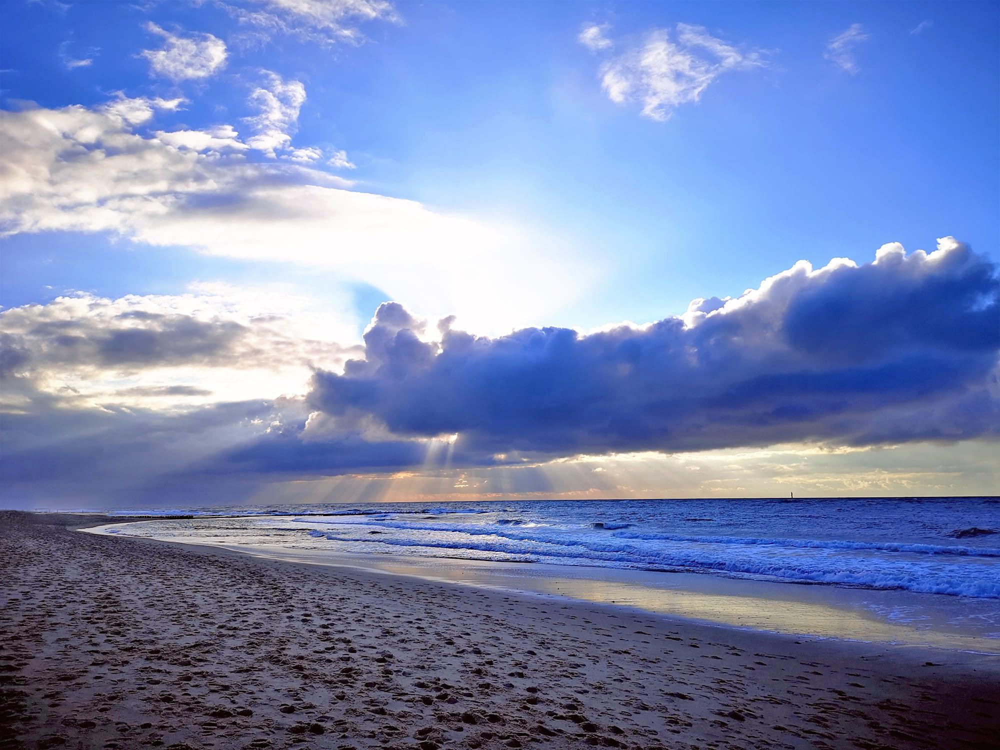 Himmel über Sylt - Galerie am Meer 2021