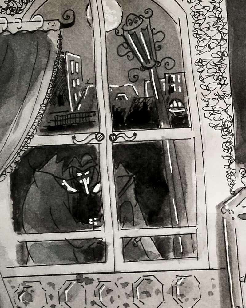Madame Rootytoot - Retro Comic Stil der 50er Jahre Blake Edwards